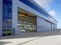 Aircraft Hangar Door from Reid Steel