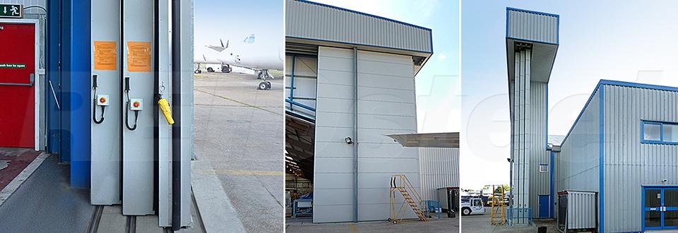 REIDsteel Door Case Study - Inflite Hangar Extension - vie~1