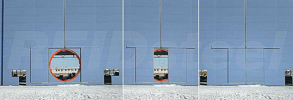 REIDsteel Doors Case Study - Eznis Hangar, Mongolia - view C