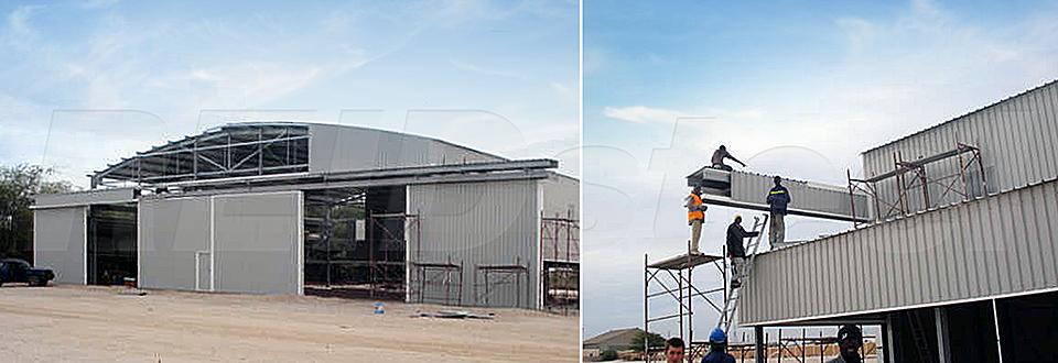 REIDsteel Doors Case Study - Helicopter Hangar, Mauritania~1