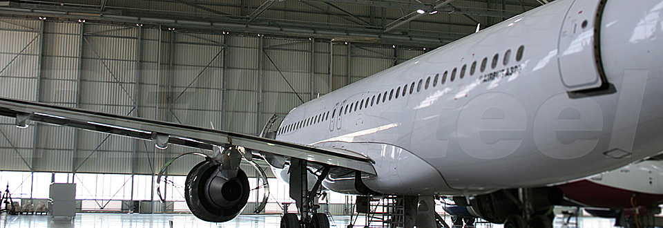 REIDsteel Doors Case Study - Lufthansa Technik Hangar, Mal~1