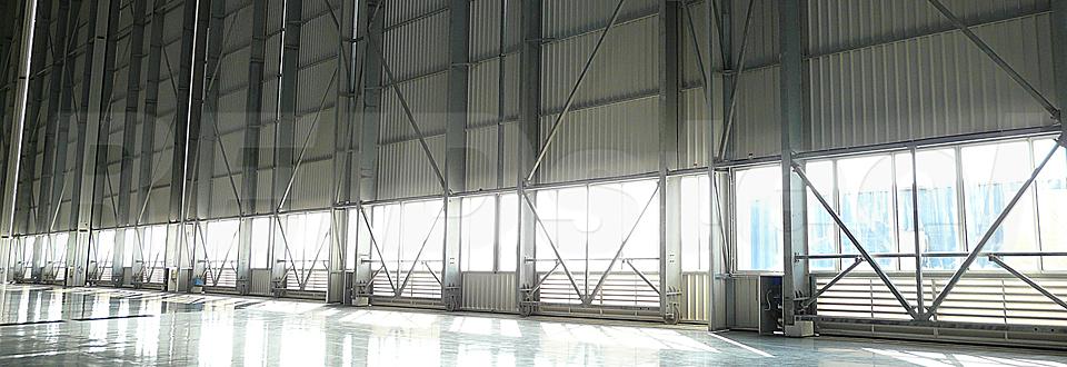 REIDsteel Doors Case Study - Lufthansa Technik Hangar, Mal~2