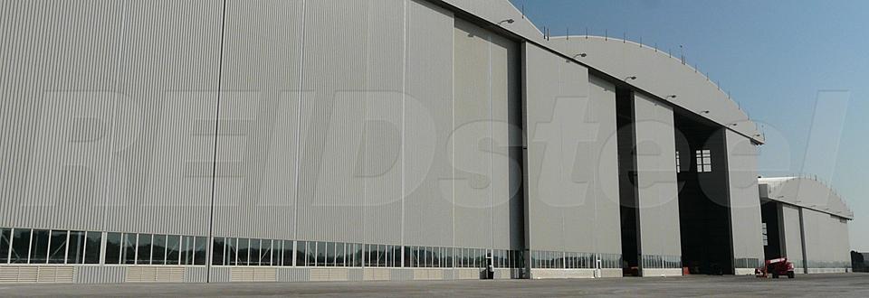 REIDsteel Doors Case Study - Lufthansa Technik Hangar, Malta