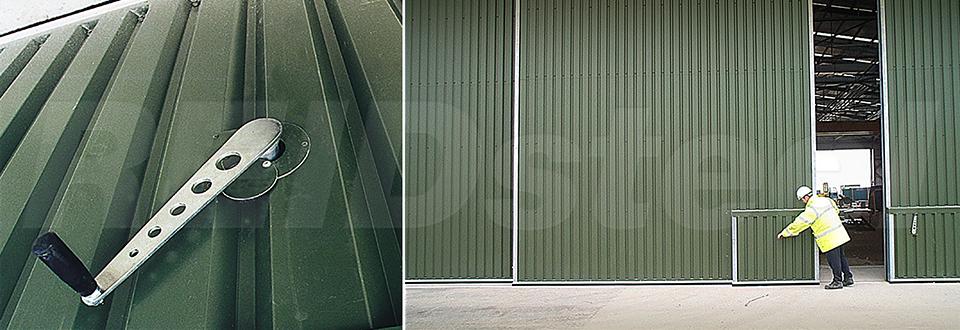 REIDsteel Doors Case Study - RNAS Culdrose Hangar, Cornwal~1