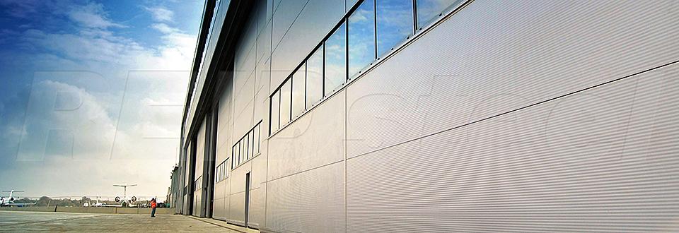 REIDsteel Doors Case Study - Rizon Hangar, Biggin Hill - v~1