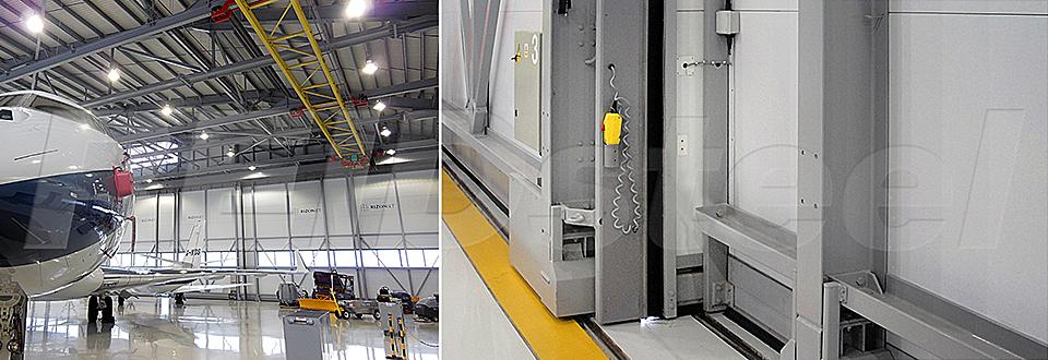 REIDsteel Doors Case Study - Rizon Hangar, Biggin Hill - v~2
