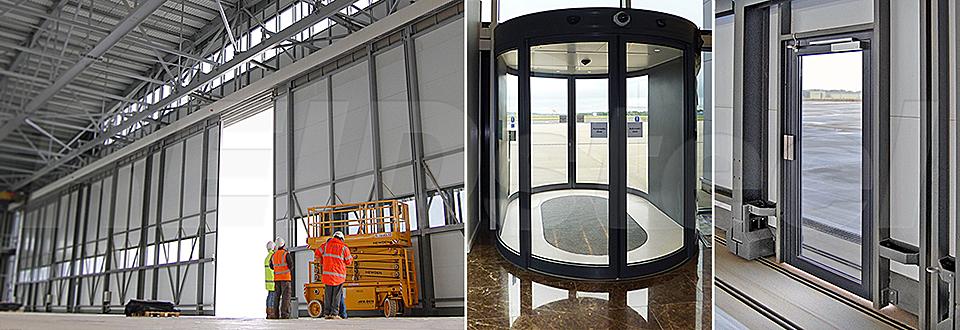REIDsteel Doors Case Study - Rizon Hangar, Biggin Hill - v~3