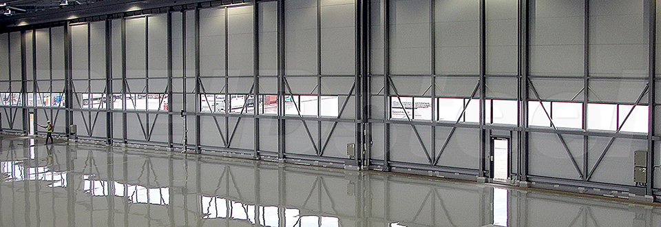 REIDsteel Doors Case Study - Rizon Hangar, Biggin Hill