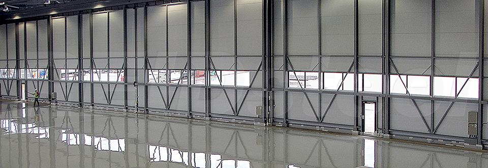 REIDsteel Doors Case Study - Rizon Hangar, Biggin Hill
