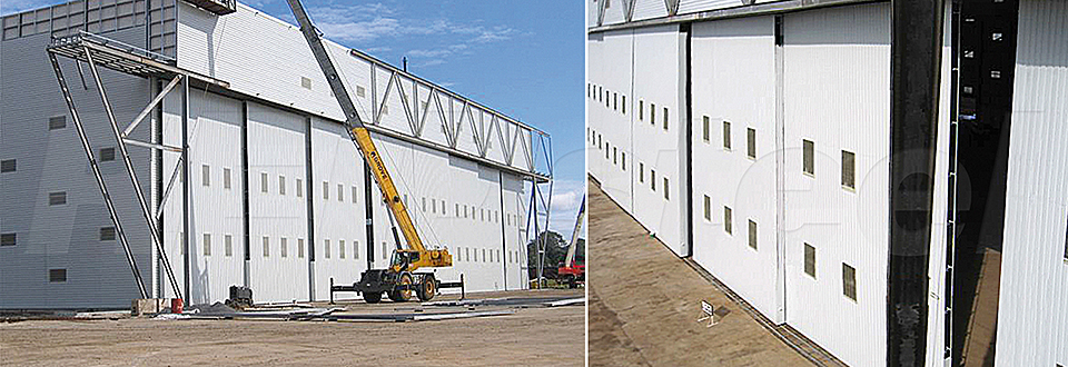 REIDsteel Doors Case Study - TEC International Hangar - vi~1