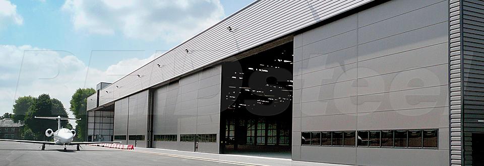 REIDsteel Doors Case Study - Terminal Hangar, Biggin Hill -