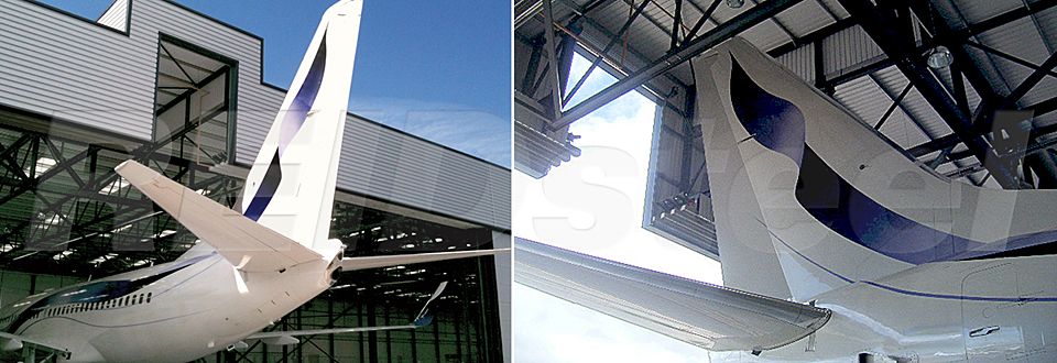 REIDsteel Doors Case Study - Terminal Hangar, Biggin Hill ~1