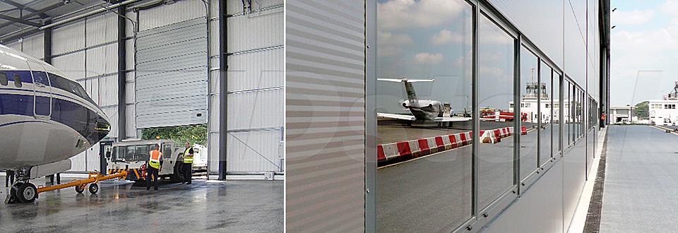 REIDsteel Doors Case Study - Terminal Hangar, Biggin Hill ~2