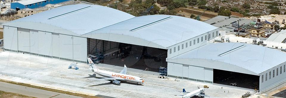 REIDsteel Hangar Doors - Malta Hangar