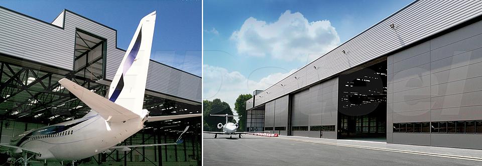 REIDsteel Hangar Doors - Terminal Hangar