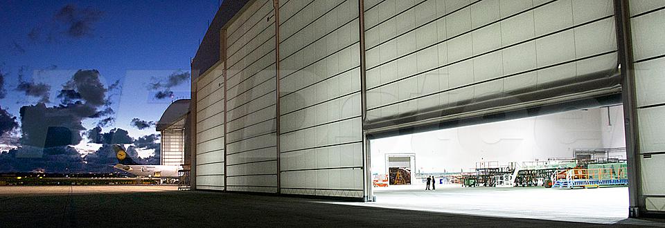 REIDsteel Hangar Doors - Malta Extension