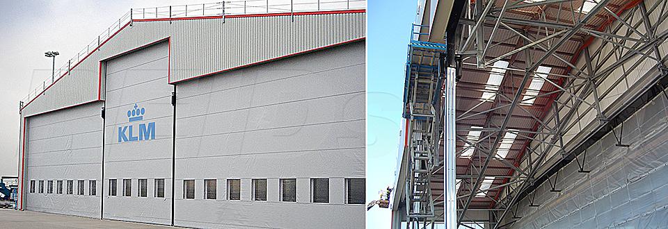 REIDsteel Hangar Extensions - KLM Hangar Extension