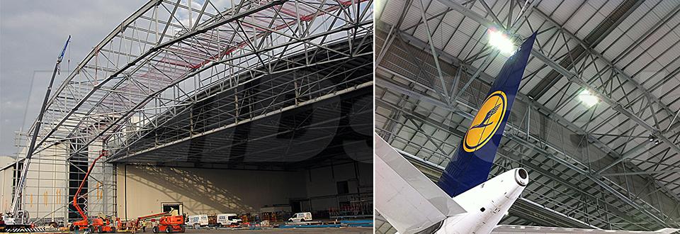REIDsteel Hangar Extensions - Malta Hangar Extension