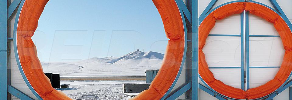 REIDsteel Doors Case Study - Eznis Hangar, Mongolia - view D
