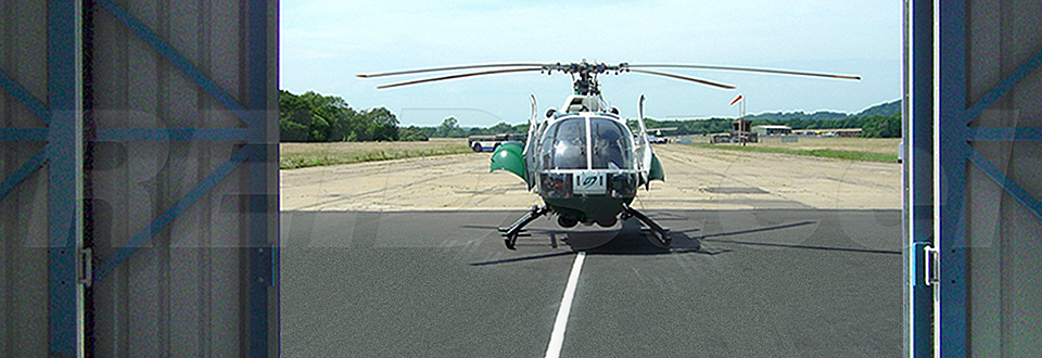 REIDsteel Doors Case Study - Surrey Air Ambulance - view B
